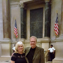 Jane and Roger Bona at the National Archives